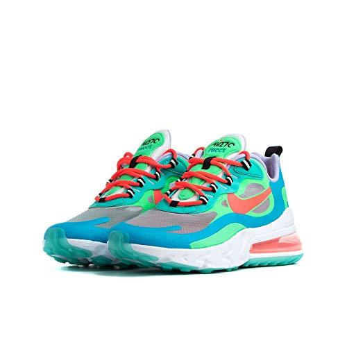Sneaker Nike Zapatilla NIKE Air MAX 270 React Mujer Azul 38.5