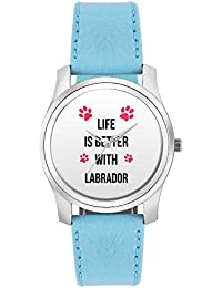 BigOwl Life Is Better With Labrador | Best Gift For Labrador Dog Lovers Fashion Watches For Girls - Awesome Gift...
