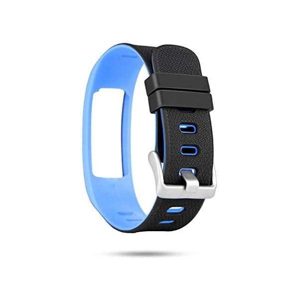 WADEO Impermeable Bluetooth Fitness Tracker Pulsera Reloj Pulsera Inteligente Banda de Repuesto Ajustable Sport… 8