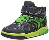 Geox Jungen J INEK Boy C Hohe Sneaker, Blau (Navy/Lime C0749), 30 EU