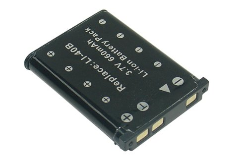 Batería de repuesto para Fujifilm FinePix L, J, JV, JX, JZ, T, XP, Z Serien Cámara Digital batería