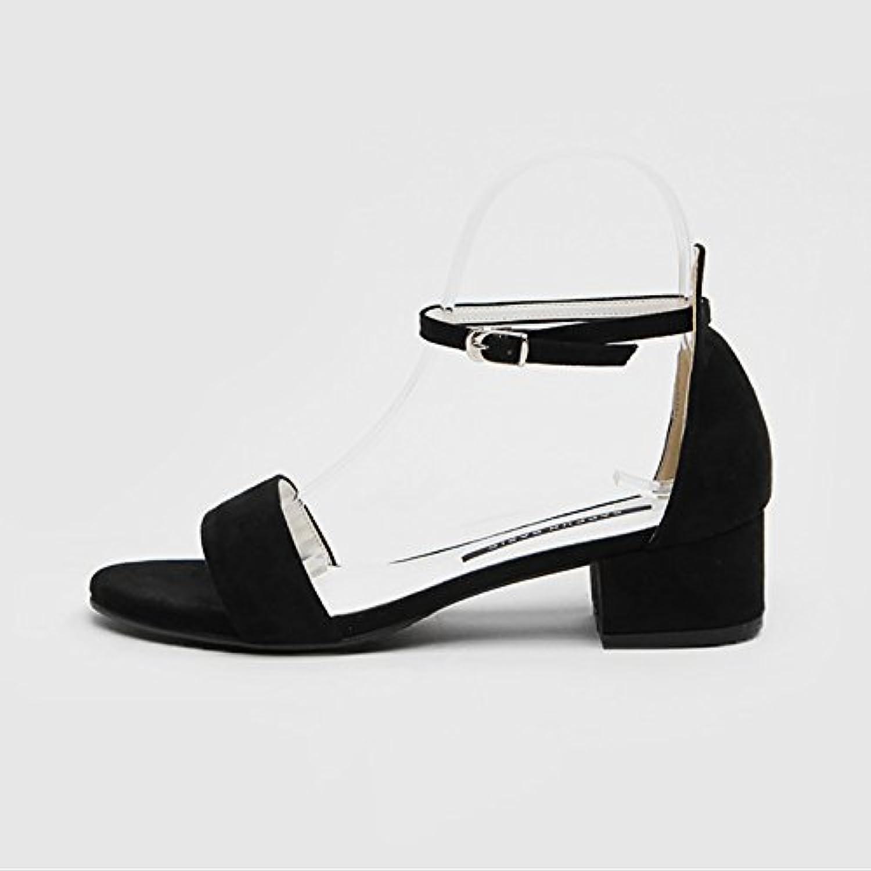 GAOLIM Hochhackige Sandalen Studentinnen Im Sommer Sommer Mit Dem Wort Zu Und Der High-Heel Schuhe Frauen Schuheö