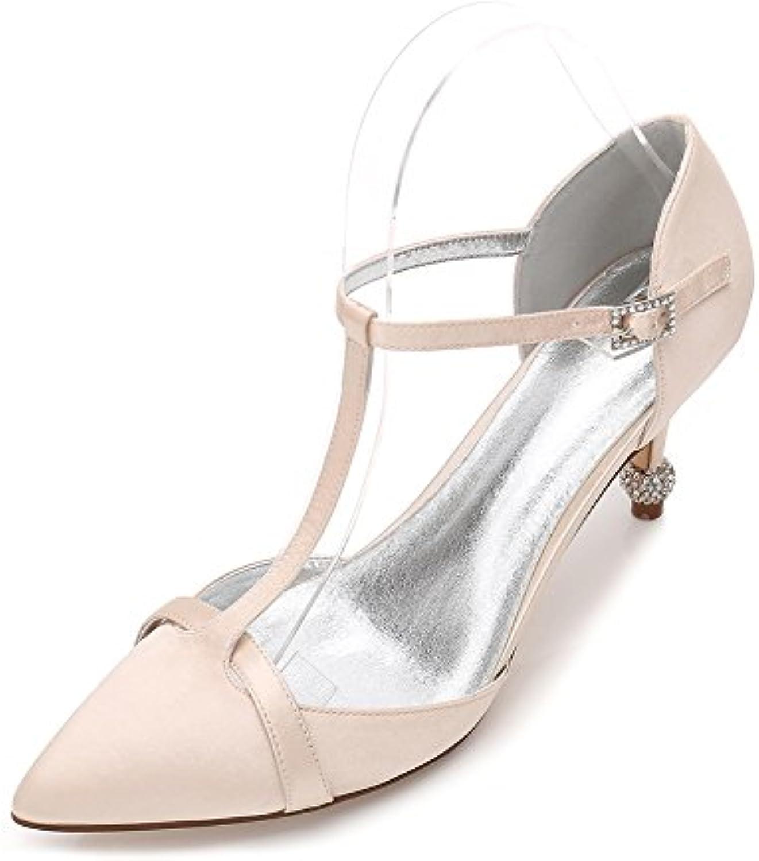 7f4523efa98b1c zbeibei wo strass strass strass des talons de chaussures sandales  b07cndrjbw parent satin boucle partie | La Reine De La Qualité 7717eb