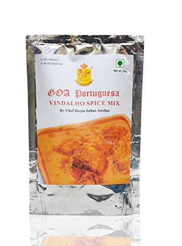 Goa Portuguesa Vindalho Spice Mix 50 Grams