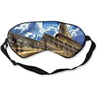 Eye Mask Eyeshade Eiffel Tower Scenery Sleeping Mask Blindfold Eyepatch Adjustable Head Strap preisvergleich bei billige-tabletten.eu