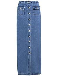 a62cfec597109 SS7 NEUF Femmes Jeans Maxi jupe , jeans bleu, Tailles 8 pour 16
