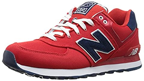 New Balance Lifestyle, Sneakers Basses femme, Rouge (Red), 39 EU