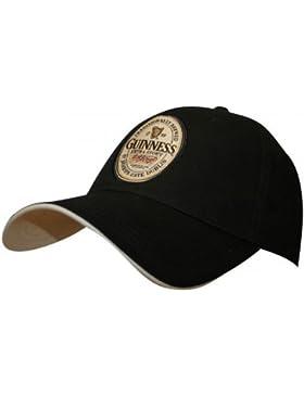Guinness Official Merchandise etiqueta de Inglés–Gorra para hombre, hombre, negro