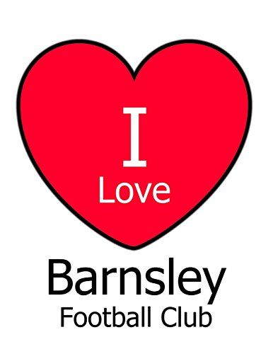 I Love Barnsley Football Club: White Notebook/Notepad for Writing 100 Pages Barnsley Football Gift for Men, Women, Boys & Girls por Kensington Press