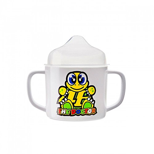 Valentino Rossi VR46 Moto GP The Doctor Karikatur Baby Tasse Offiziell 2017