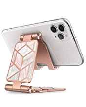 i-Blason Cell Phone Stand, Adjustable Cell Phone Stand, Holder Phone Dock Cradle Multi Angle Compatible with iPhone 11 Pro Xs Xs Max X Xr 7 8 & Android Smartphone, All Smart Phone- Marble