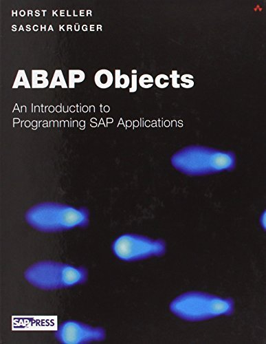 ABAP Objects: Introduction to Programming SAP Applications HAR/CDR edition by Keller, Horst, Kruger, Sascha (2002) Hardcover par Horst, Kruger, Sascha Keller