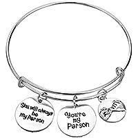 MAINBEAD You' re My braccialetto Pull gancio persona migliore amico regalo braccialetto regolabile