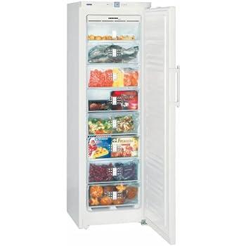 Liebherr GNP 3056 Premium Autonome Droit 261L A++ Blanc - Congélateurs (Droit, 261 L, 20 kg/24h, SN-T, Système anti-gel, A++)