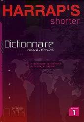 Harrap's Shorter : Tome 1, English-French/Anglais-Français