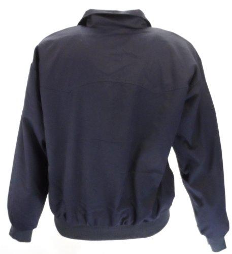 Blouson style harrington bleu marine veste rétro MOD / biker XS - 3XL Bleu Marine