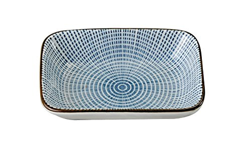 Tokyo Design Studio Sendan Tokusa Blue Service Pour Sushis Vaisselle