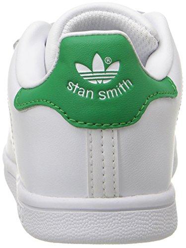 Adidas Stan Smith CF Leder Turnschuhe FtWWht/FtWWht/Green