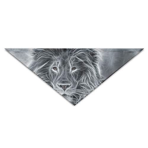 Kostüm Dog Head Lion - Gxdchfj African Lion Sketch Pet Dog Cat Puppy Bandana Triangle Head Scarfs Accessories