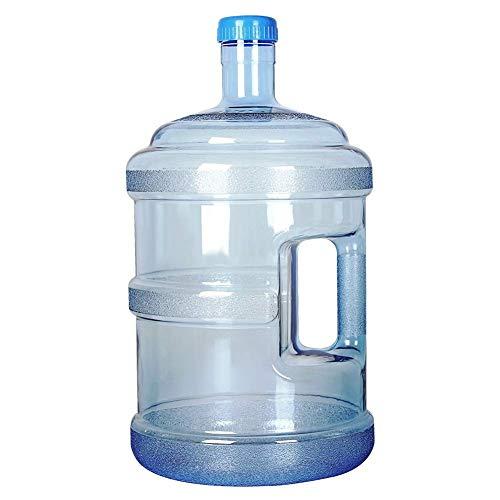 LXDDB Wasserflasche Portable PC Bucket Household große Kapazität reinen Wassereimer mit Griff Wassereimer, 5 Gallonen -