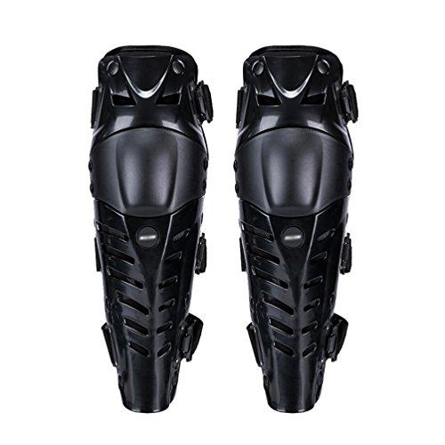 Dexinx Motorrad Radfahren Knieschützer Motocross Racing Beinschutz Pads Schutzausrüstung für Motorrad Mountainbike-2 stücke Schwarz