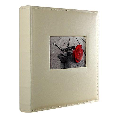 Lcd album fotografico matrimonio tradizionale crema 100nere