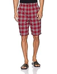 Jockey Men's Relaxed Fit Cotton Shorts (US88_Checks C0146_X-Large)