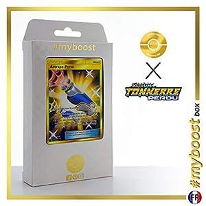 Attrape-Perso (Capturador Personalizado) 231/214 Entrenadore Secreta - #myboost X Soleil & Lune 8 Tonnerre Perdu - Box de 10 Cartas Pokémon Francés