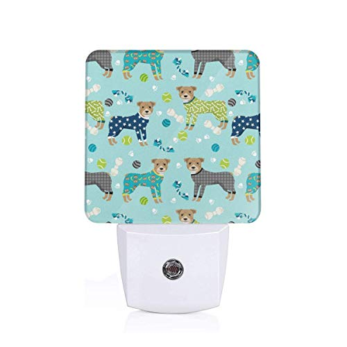 ulls In Pjs Auto Senor Dusk to Dawn Night Light Plug in for Baby, Kids, Children's Room ()