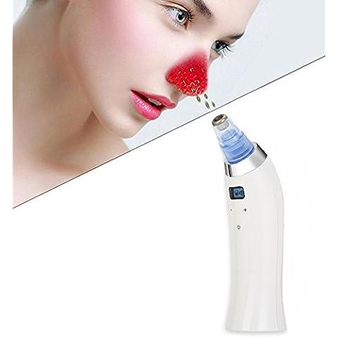 [Nueva versión] Buydaly eléctrico Facial Pore Cleanser BlackHead acné Remover limpiador utiliza la herramienta de extracción de vacío de poro para promover la salud de la piel y renovación Facial