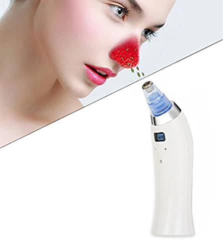[Nouvelle version] Buydaly électrique des pores du visage nettoyant BlackHead nettoyeur Acne Remover utilise outil extraction par ventouse obstétricale Pore pour promouvoir la santé de la peau & renouvellement du visage
