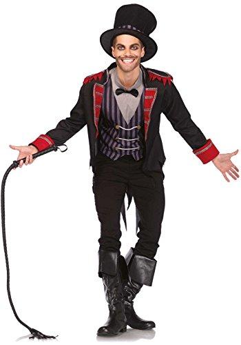Leg Avenue 85497 - Sinister Ring Master Kostüm, Größe XL (Herren Zirkus Ringmaster Kostüm)