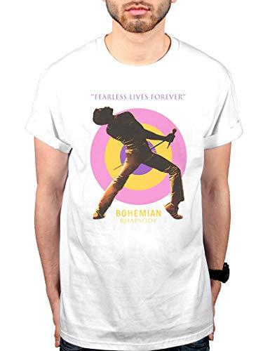 Official Queen Fearless T-Shirt Rhapsody Tee