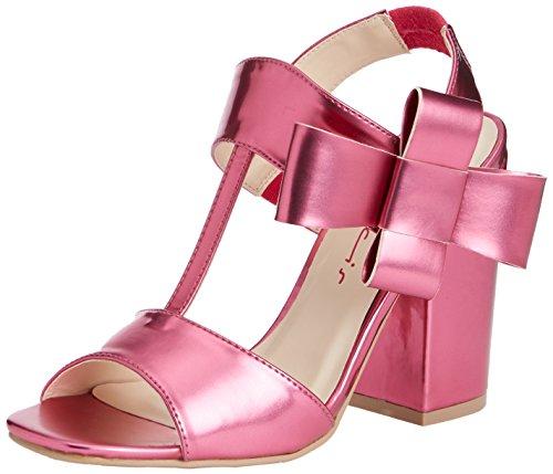 Dolcis Abella, Sandales Plateforme femme Rose - Pink (Fuchsia)
