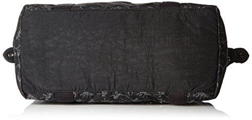 Kipling - ART M - Borsa da viaggio media - Black - (Nero) Multicolore (Monkey Nov Bl)