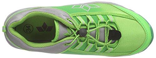Lico Cliffside, Chaussures de randonnée mixte enfant Vert - Grün (gruen/grau)
