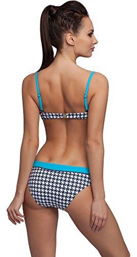 aQuarilla Damen Bikini Set 3Z93R Blau/Navy