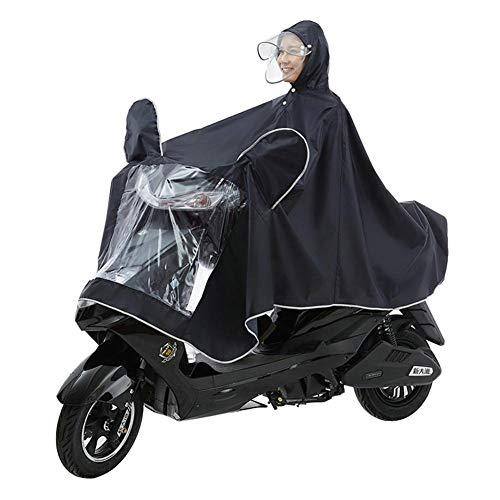 soundwinds Siamesische Poncho Markise Regenschutz atmungsaktiv wasserdichter Schal Erwachsener Doppelkappe Motorrad Regenmantel abnehmbare Kleidung Jacke Motorrad Roller Reiten Fahrrad Fahren superb
