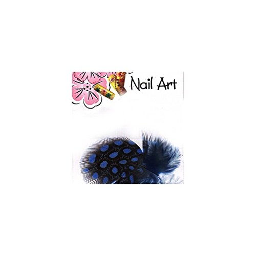 Nails & co - Plumes nail art - - Zebra Bleue