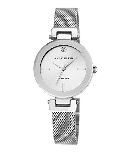 anne-klein-femme-montre-a-quartz-avec-cadran-argente-affichage-analogique-et-bracelet-en-alliage-arg