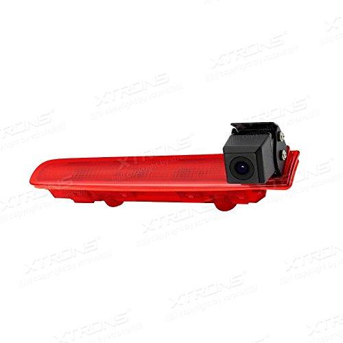 Auto Nachtsicht Rückfahrkamera Einparkkamera Kamera Einparkhilfe Farbkamera Rückfahrsystem Wasserdicht für Transporter VW T5 /VW T6 3. Bremsleuchte (nur Doppeltüren) ≥2010-2017