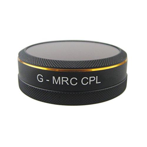 Penivo CPL Kreis Polarisator Filter für Phantom 4 Pro/ pro+ /advaced /advanced+ Polfilter Nicht für DJI Phantom 4 - Erweiterte Filter
