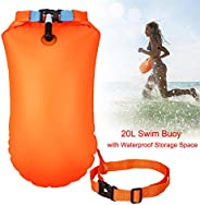 Keep Better Swim Buoy Waterproof Dry Bag Swim Safety Float Keep Gear Dry for Boating Kayaking Fishing Rafting