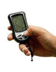 8in 1Digital LCD Kompass Höhenmesser Barometer Thermo Temperatur Kalender