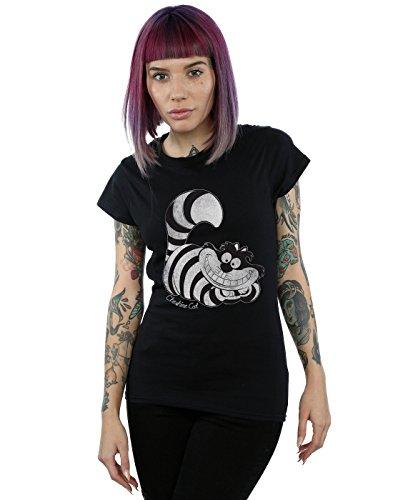 n Wonderland Mono Cheshire Cat T-Shirt XX-Large Schwarz ()