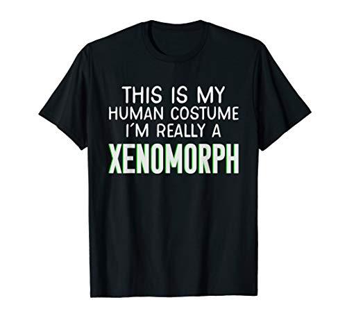 Xenomorph Kostüm Kinder - Dies ist mein menschliches Kostüm. Ich bin Xenomorph T-Shirt
