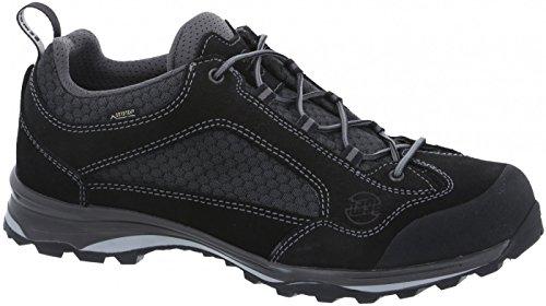 Hanwag Barcas Gtx, Chaussures de Randonnée Basses Homme Black/black
