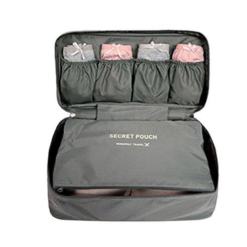 FunYoung Borsa stoccaggio biancheria intima - Borsa da viaggio in nylon tasca laterale toilette scelta impermeabile di colore borsa