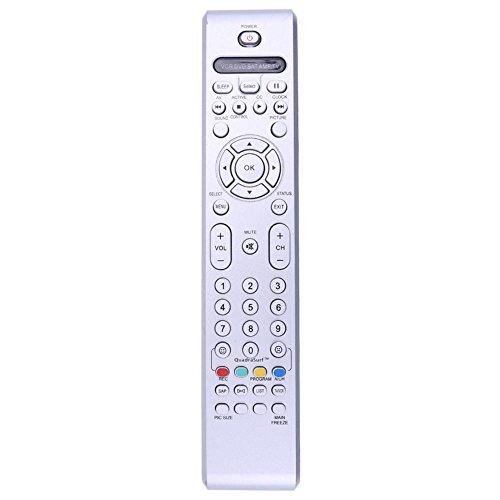 Prettygood7 Ersatz-Fernbedienung für Philips TV/DVD/AUX/VCR RC4350/01B RC4401
