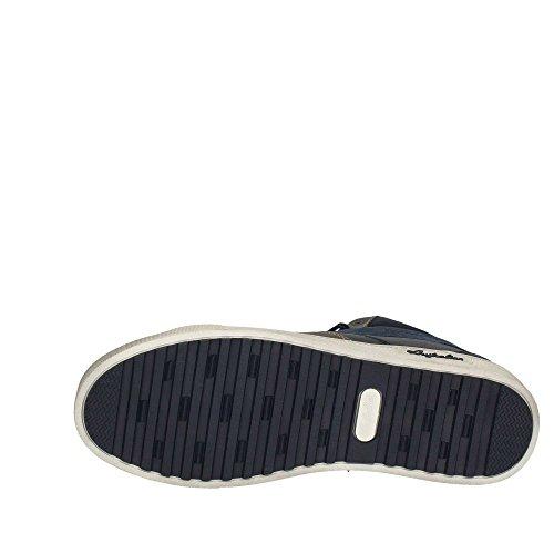 Australian AU342 uomo, sintetico, sneaker alta Blu